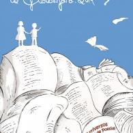 """Feria del libro de Guadalajara, 2014"". Cartel para el Concurso de carteles Arriversos (Guadalajara)"