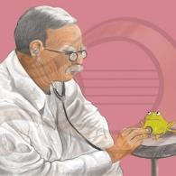 La rana Chiclota visita al doctor