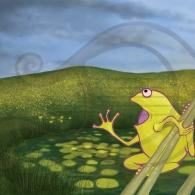 La rana Chiclota canta todas las notas
