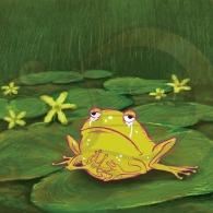 La rana Chiclota está gordota