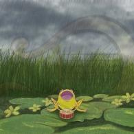 La rana Chiclota hace llover