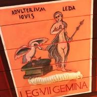 Detalle de Leda y el Cisne I