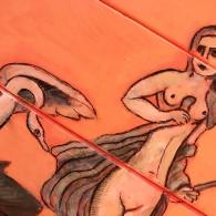 Detalle de Leda y el Cisne II