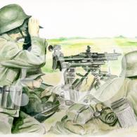 Infanteria alemana I
