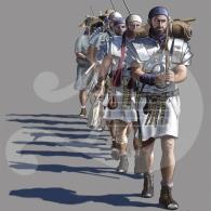 Marcha de contubernio romano
